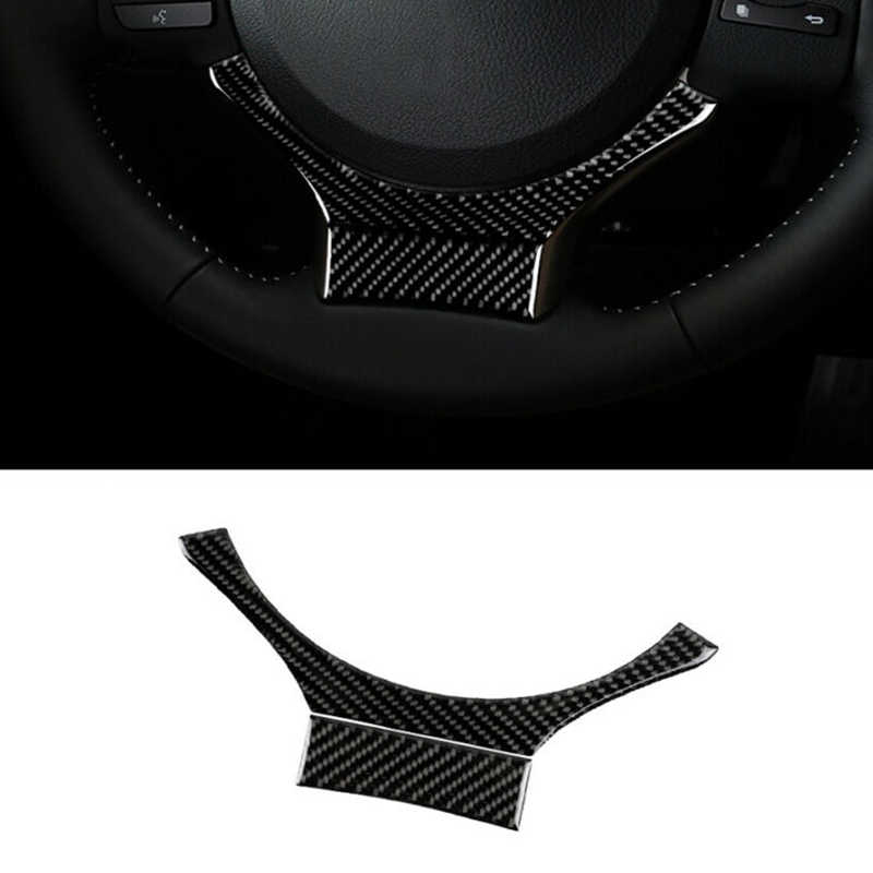 Высококачественная накладка на руль из углеродного волокна для LEXUS IS250 IS300 IS350 2014-2017 аксессуары новая декоративная наклейка