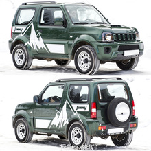Car stickers for Suzuki Jimny SUV personality decoration appearance modified body