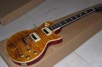 Fabrika doğrudan Fabrika Özel Mağazalar sarı SLASH Elektro Gitar, real resimleri
