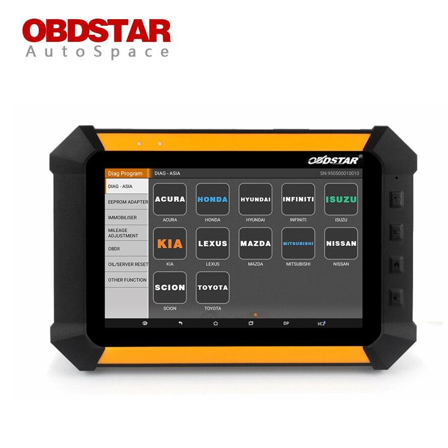 Obdstar x300 dp auto key programmer read pin code odometer correction reset car mileage change adjustment diagnostic tool kits