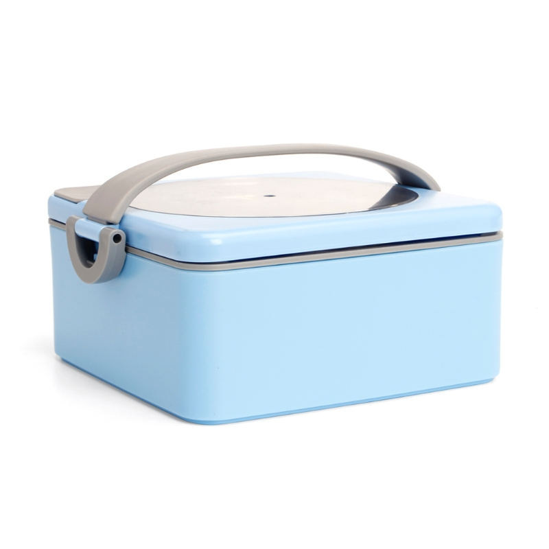 Portable Hot Water Heating Lunch Boxes Lunchbox Kids Bowl Food Container Outdoor W15