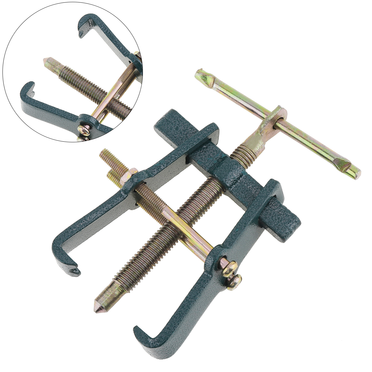 3 Inch Two-claw Puller Separate Lifting Device Multi-purpose Pull Strengthen Bearing Rama for Auto <font><b>Mechanic</b></font> Hand <font><b>Tools</b></font> hot image