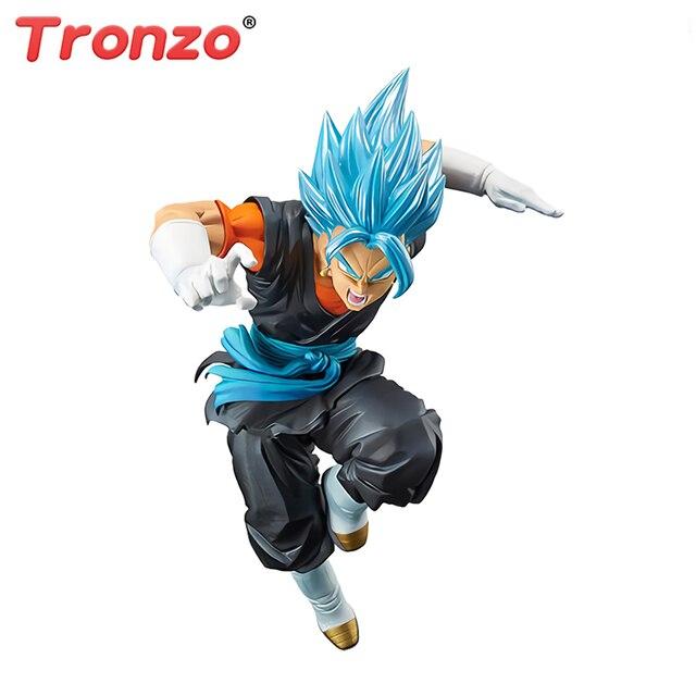 Tronzo Original Banpresto Action Figure Dragon Ball Super Vegetto Azul PVC Action Figure Brinquedos Bonecas Modelo Dragon Ball SSJ Vegito