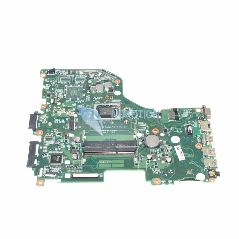 NOKOTION DA0ZRZMB6D0 NBMW911002 NBMW9110026 For font b acer b font aspire E5 522 laptop motherboard A10
