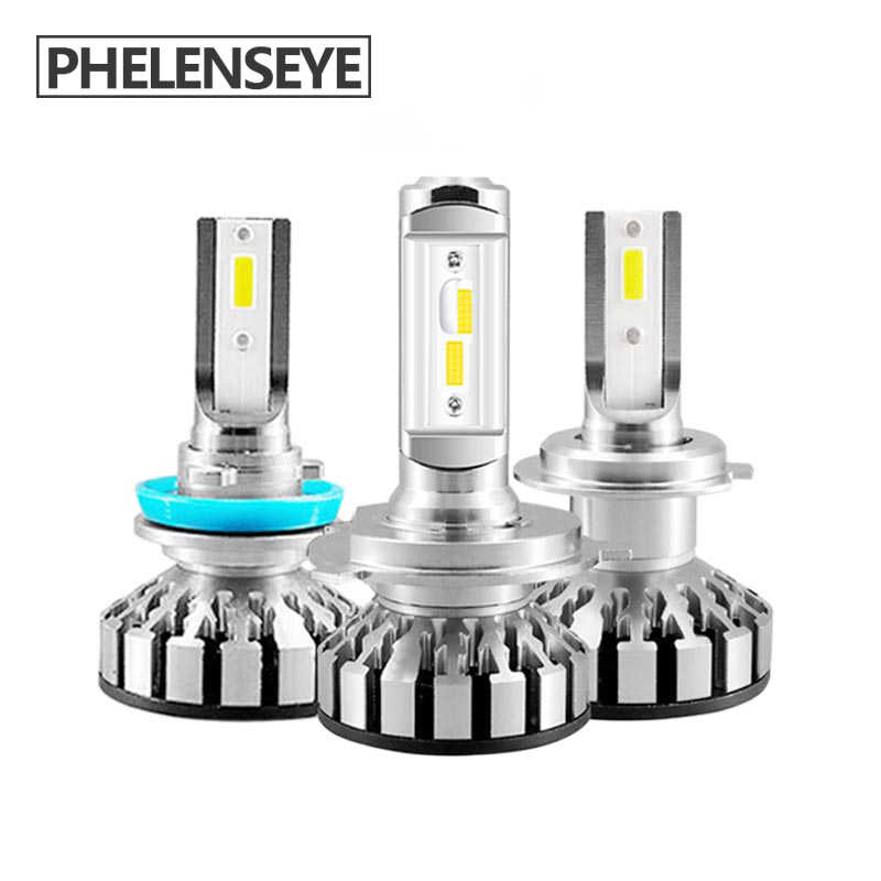Mini h7 h4/9003/HB2 h11 h8 Car LED Headlight Bulb hb3 hb4 50W 10000lm LED Headlamps 6000K Motorcycle Auto Fog lamp