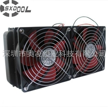 SXDOOL Cooling 240MM Water cooling radiator double fans For computer water discharge radiator strong wind Recommend