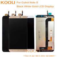 LCD Display For Cubot Note S Touch Screen Dightizer Assembly Replacement For Cubot Note S Mobile Phone Display