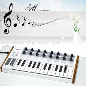 Image 4 - Worde Mini clavier MIDI, Mini professionnel Ultra Portable et contrôleur de clavier, USB 25 touches