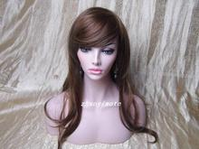 Realistic Skintone Fiberglass Wig Mannequin Head Bust For Hat Display