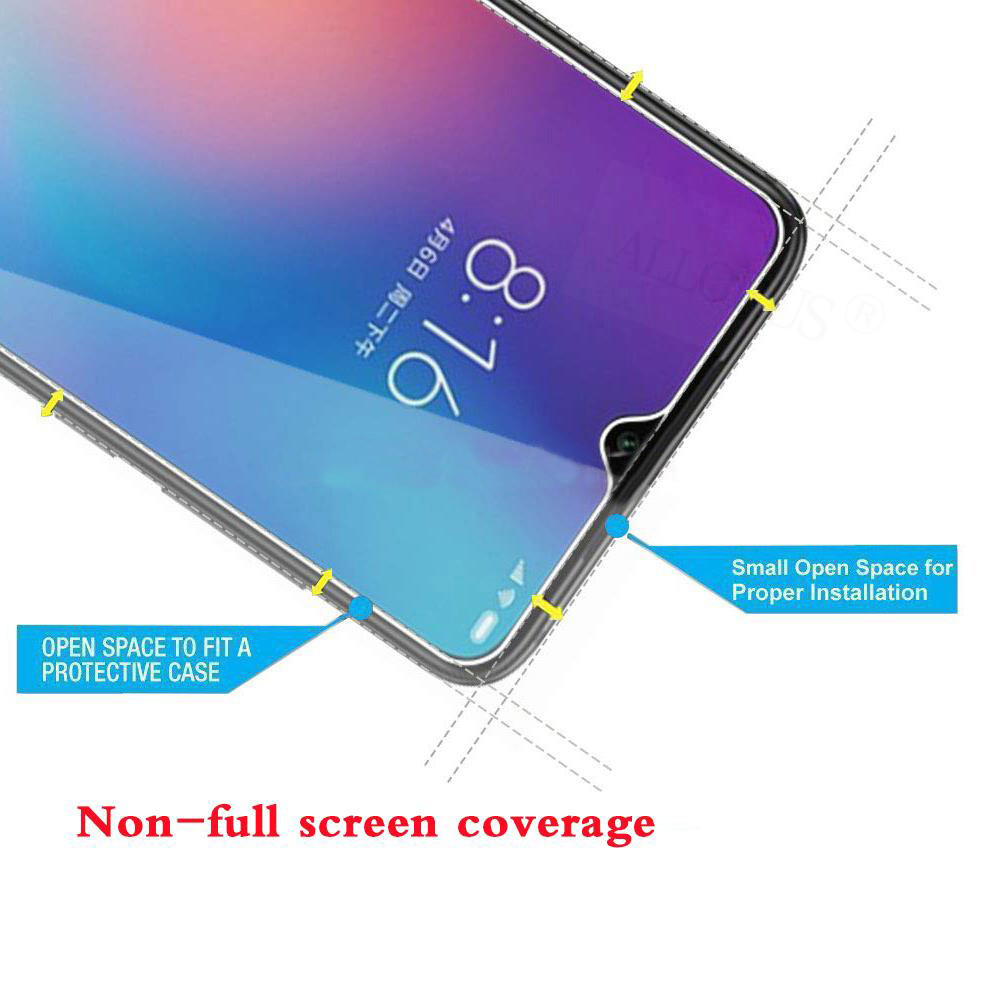 Image 4 - ALLORUS 2Pcs Glass for UMIDIGI A5 Pro 9H Screen Protector Tempered Glass on the UMIDIGI A5 Protective Glass for UMIDIGI A5 Pro-in Phone Screen Protectors from Cellphones & Telecommunications