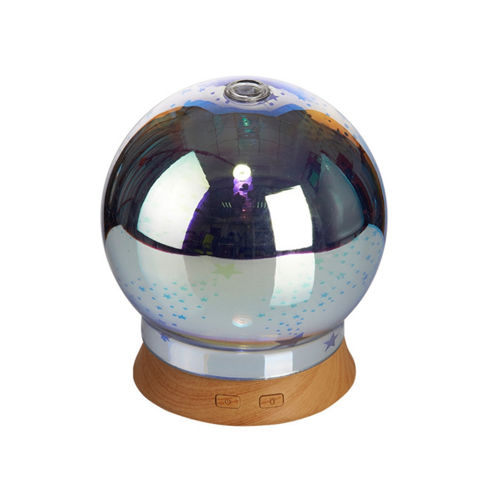 3D Spark Glass Ultrasonic Humidifier Aromatherapy Essential oil Aroma Diffuser LED Mist Maker Fogger Car Home Air Humidifier3D Spark Glass Ultrasonic Humidifier Aromatherapy Essential oil Aroma Diffuser LED Mist Maker Fogger Car Home Air Humidifier