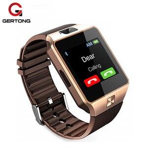Умные часы DZ09 с камерой, Bluetooth, спортивные носимые устройства, SIM-карта TF, умные часы для IOS, Android, для iPhone X, XS, XR, XS MAX