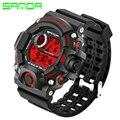 Nuevo tipo G de ocio al aire libre reloj deportivo LED digital reloj de los hombres de moda de cuarzo militar S-SHOCK reloj militar relogio masculino