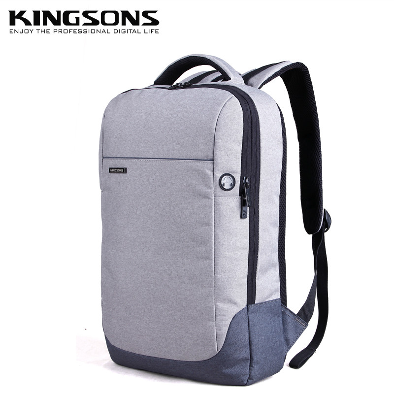 15 Kingsons Laptop Backpack Anti-theft Nylon Schoolbag Notebook Computer School Satchel Travel Trip Backpacks Rucksack Large 14 15 15 6 inch flax linen laptop notebook backpack bags case school backpack for travel shopping climbing men women