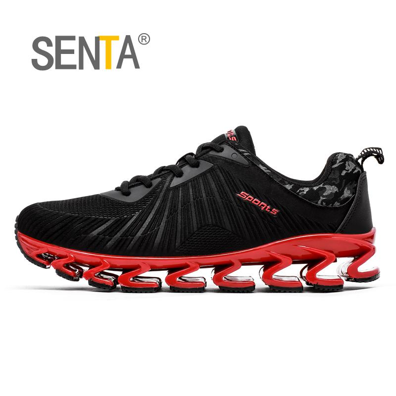 SENTA 2017 Blade summer brand sneakers men outdoors breathable sports lovers running shoes for men sports used on treadmill