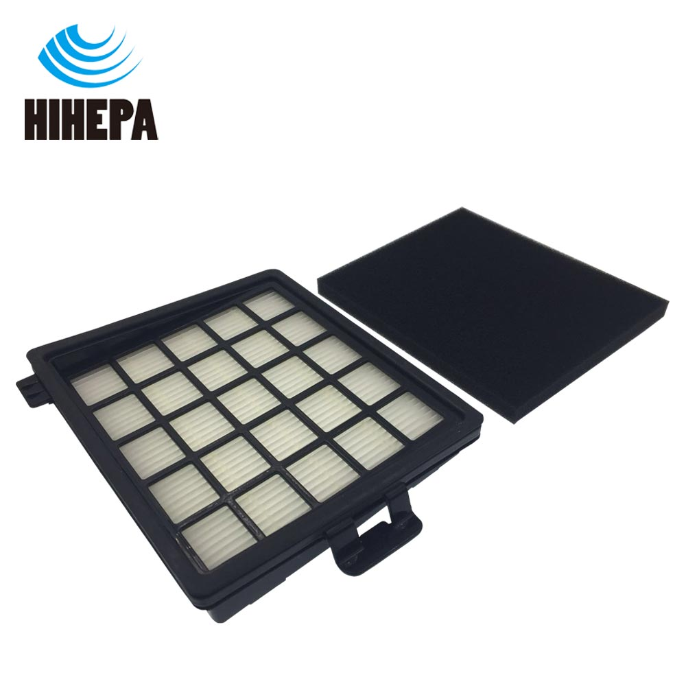 1set HEPA & Foam Filter for Philips Easylife FC8071 FC8140 FC8141 FC8142 FC8143 FC8144 FC8146 FC8147 FC8148 Vacuum Cleaner Part hepa foam