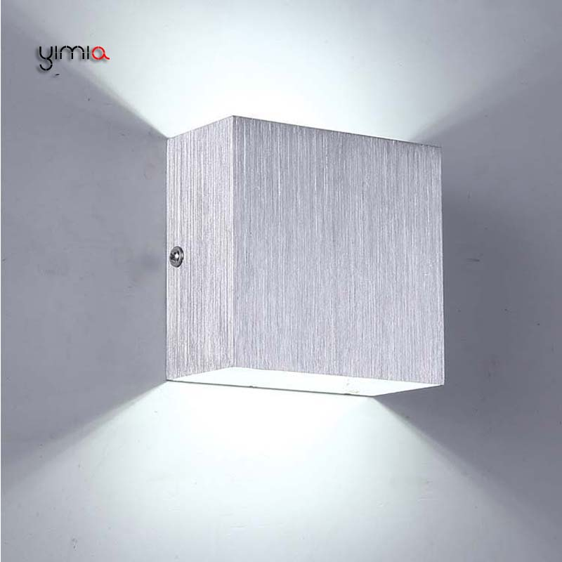 YIMIA Modern Indoor Wall Lamps Sconce IP44 Outdoor Lighting LED Wall Light Fixture 6W Courtyard Aisle Balcony Bedroom Hotel Lamp wall lamps indoor modern villa courtyard outdoor wall light bedroom led wall light bedroom led wall light garden lamp of garden