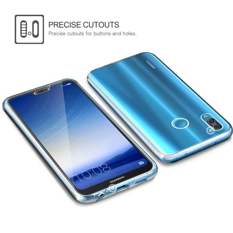 360 Degree Case for Huawei Mate 10  20 Lite  Pro   Y6 Y7 Pro Prime 2019 HONOR 8 10 Lite 8A Full Body Clear Soft TPU