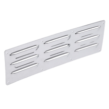 1 Pcs Boat 304 Stainless Steel Louver Vent Marine 9 Slots Rectangle Vent 10.2 x 3.4 Inch For Boat Marine Yacht Caravans RV Etc цены онлайн