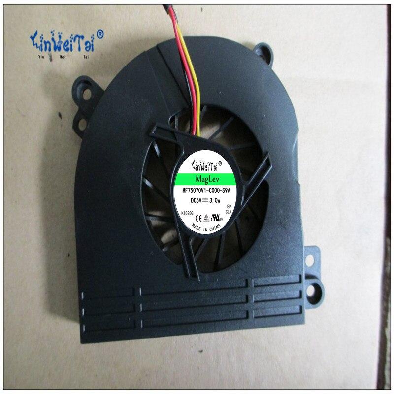 Ventilateur Pour Toshiba Satellite P205 P200 P200-14H Série Ventilateur De Refroidissement ET017000800 DFS531205M30T F6J0-CW DC5V 0.5A (3 fil) 3-pin