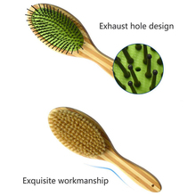 Bamboo-Brushes Bristle Fur-Hair-Comb Grooming Puppy Pets Pet-Dog Cats Dogs Double-Sided-Pin