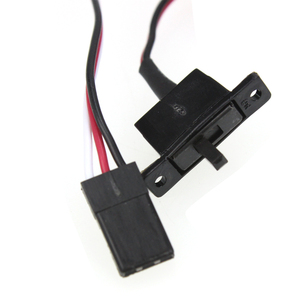 Image 2 - 10A Brushed ESC Two Way Motor Speed Controller Mit Bremse Für 1/16 1/18 1/24 RC Auto Boot Tank Drone zubehör Teile Kits F05428