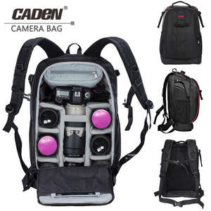 CADeN backpack laptop for Canon Photography bag mochila fotografia DSLR Camera Shoulder