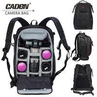 CADeN Photography bag mochila fotografia DSLR Camera Shoulder Bags backpack laptop for Canon Nikon Travel Shockproof lens Cases