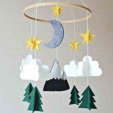 Новинка, украшение для дома, скандинавские детские палатки, украшение для мальчиков/девочек, детская кроватка, мобильная, лесной, ночной, ясли, украшение для мобильного телефона# T2