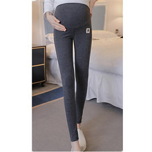 Maternity Pants 2019 Spring Autumn Care Belly Leggings for Pregnant Women Cotton Pencil Trousers Pregnancy Clothing E0056 цена и фото