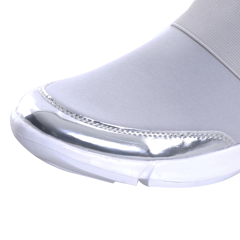 HEE GRAND Women Casual loafers Breathable Summer Flat Shoes Woman Slip on Casual Shoes 2018 New Flats Shoes size 35 42 XWC1276 in Women 39 s Flats from Shoes