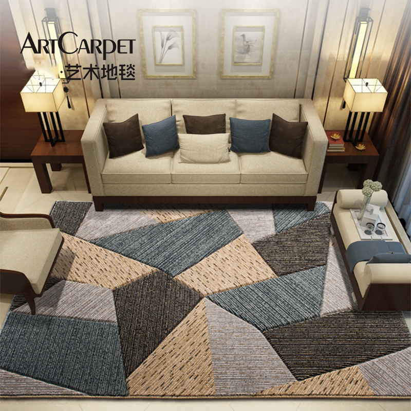 Us 199 99 20 Off Long Geometric Wilton Nordic Fur Carpet Bedroom New Zealand Outdoor Area Rugs And For Home Living Room Decoration In