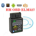 HH OBD Advanced Bluetooth V2.1 Auto Car Diagnostic Scanner code reader OBDII OBD2 ELM 327 Wireless Scanner Tool Android ISO