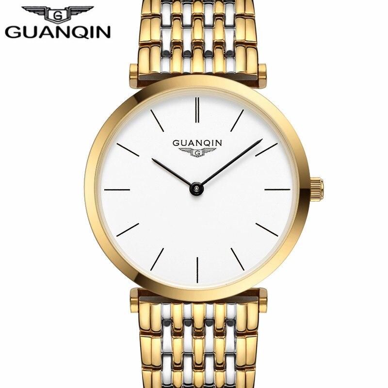 Saatlar kişilər Yeni Moda dizayneri Orijinal marka GUANQIN Sapphire - Kişi saatları - Fotoqrafiya 3