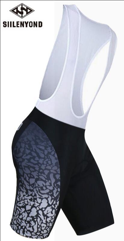 Siilenyond, мужская спортивная одежда, велосипедные шорты, мягкие, дышащие, для верховой езды, mtb, велосипедные шорты с нагрудником, анти-пот, шорты для велосипедистов mtb - Color: color 3