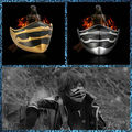 Free Shipping Cool Masks from final fans Halloween Costumes Toys Theme Dress up party props Fantasy Horror Prank Joke Gifts