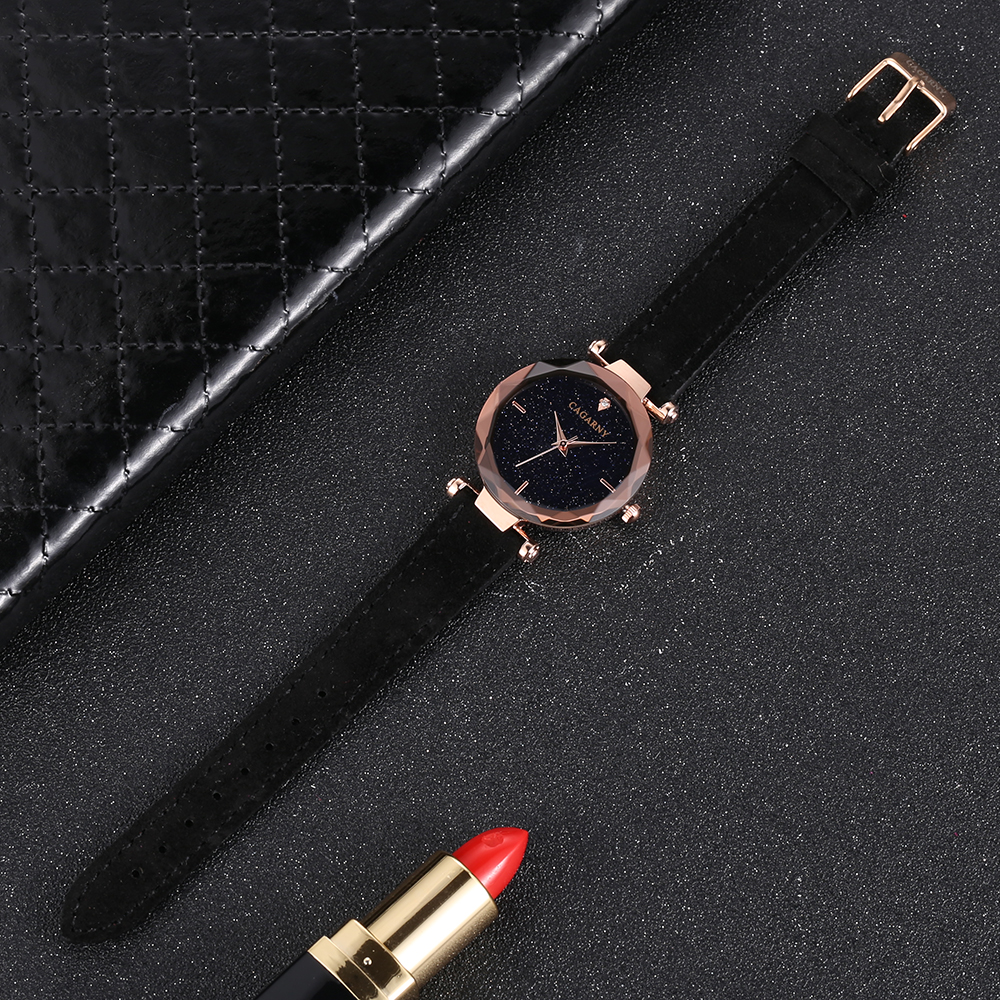 cagarny 2018 Leather Women Watches Ladies Luxury Brand Famous Wrist Watch Fashion Dress Female Clock Relogio Feminino Montre Femme drop shipping (4)