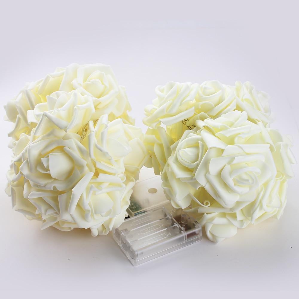 2M 20 Led Lampu Krismas Romantik Bateri Dikuasakan Untuk Pernikahan - Pencahayaan perayaan - Foto 5
