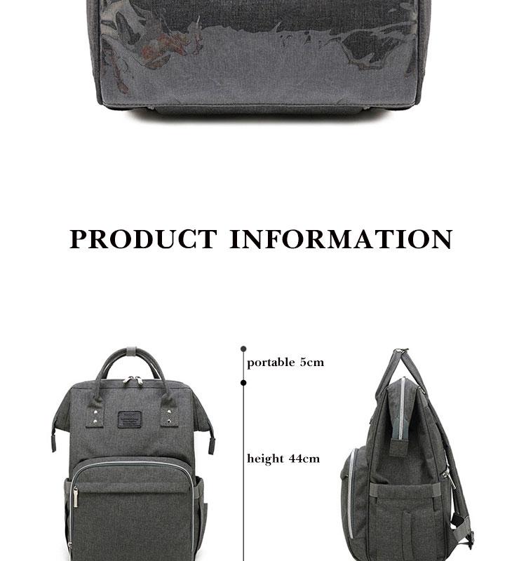 HTB14BU9Q3HqK1RjSZFPq6AwapXa6 Fashion Mummy Maternity Diaper Bag Large Nursing Bag Travel Backpack Designer Stroller Baby Bag Baby Care Nappy Backp