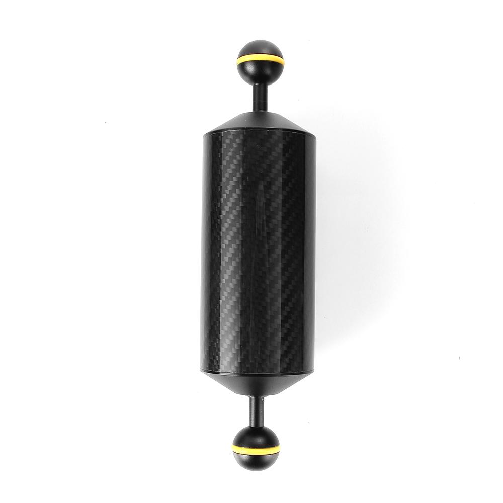 """Prix pour 225mm 8.9 """"En Fiber De Carbone Flotteur Flottabilité Aquatiques Bras Double Ballon Plongée Caméra Plateau"""