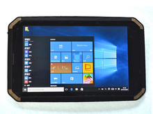 "Windows 10 ultra slim Wasserdichte Stoßfest tablet PC Handheld Handy IP68 8 ""bildschirm Intel Quad core 2G RAM GPS 3G mini"