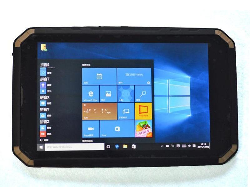 Windows 10 ultra slim Waterproof Shockproof tablet PC Handheld Mobile Phone IP68 8