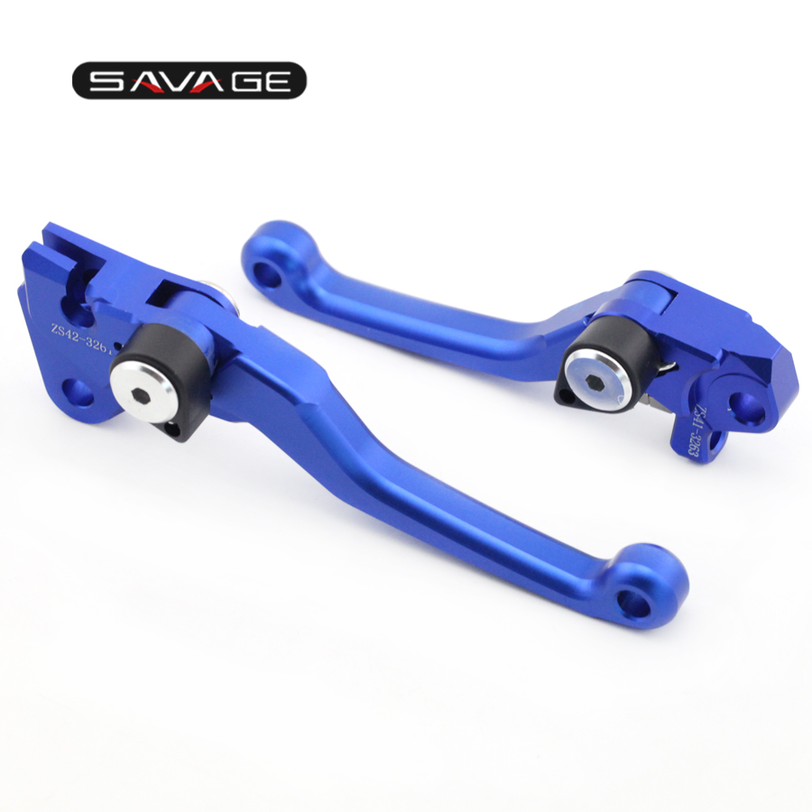CNC Pivot Brake Clutch Lever For YAMAHA YZ125 YZ250 2008-2014, YZ250F YZ450F 2007-2008 Motorcycle Dirt Bike YZ 125/250/250F/450F cnc pivot brake clutch lever for kawasaki kx65 kx85 kx125 kx250 kx250f new