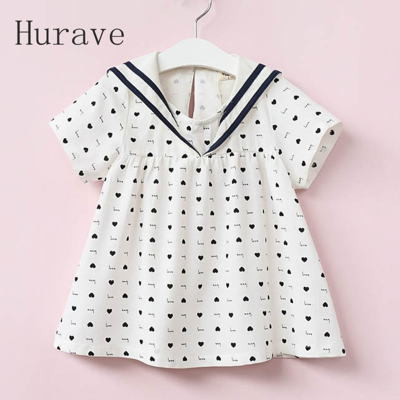 Подробнее о Hurave letter girls dress kids letter clothes vestidos for girl robe fille children heart summer casual clothing baby girl dress 2016 brand girls summer dress children clothing lemon print kids dresses for girls clothes robe princesse fille