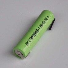 2-10PCS 2.4V 1/2AAA ni-mh rechargeable battery 500mah 1/2 AA