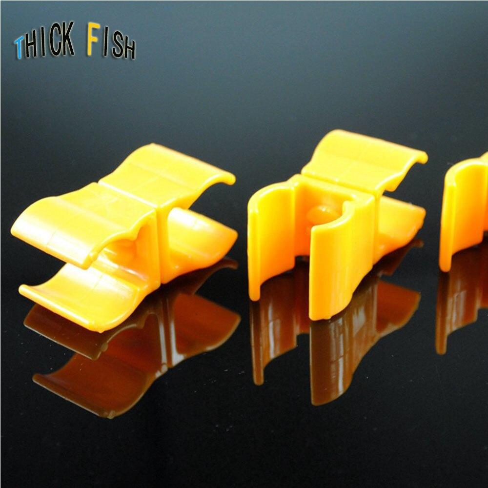Tube Clamp Ring Folder Plastic Clip Football Soccer Pipe Clip Hurdle Sub Clip Sports Training