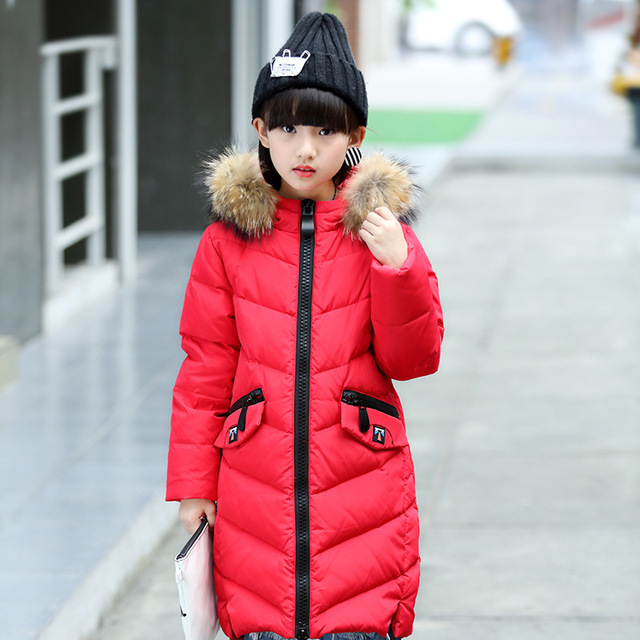Aliexpress.com : Buy 2017 Down Jacket for Girl Fashion Winter ...