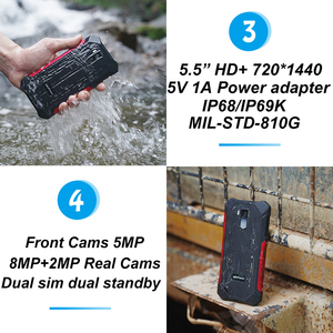 "Image 4 - Ulefone 갑옷 X3 IP68 방수 Shockproof 휴대 전화 5.5 ""HD MT6580 안 드 로이드 9.0 쿼드 코어 2 기가 바이트 32 기가 바이트 5000mAh 13MP 스마트 폰"
