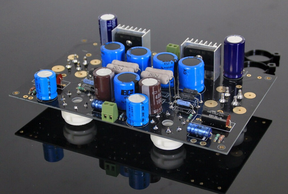 Luxury Single-ended class A tube amp amplifier DIY KIT for HIFI Match 300B Tube hifi stereo 6n2 6p1 single ended class a tube amplifier amp board diy kit