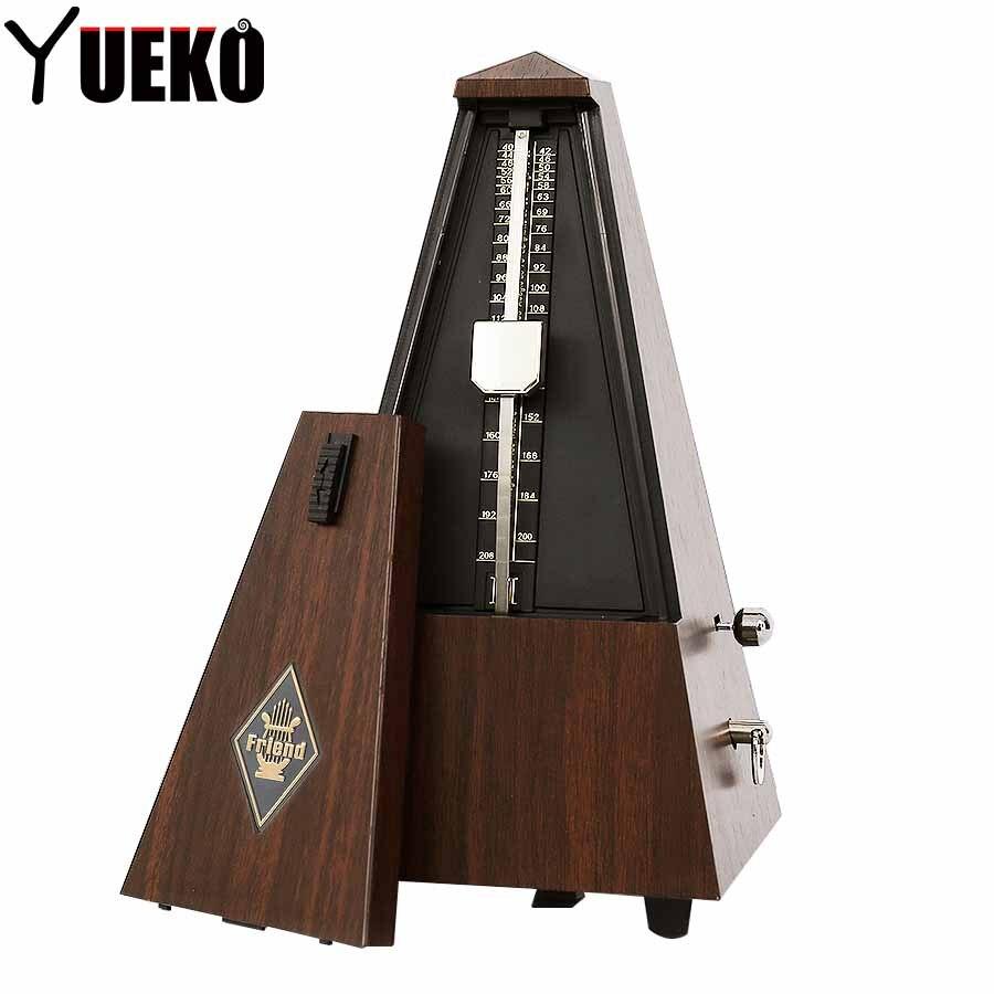 Métronome guitare en ligne pendule mécanique Mecanico bois couleur pour guitare Piano violon Instrument de musique